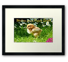 Wishing You A Happy Easter! Framed Print