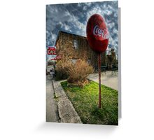Whistle Stop Cafe 4 - Decatur , Texas Greeting Card