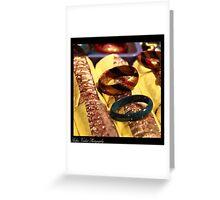 A Bangle Affair!! Greeting Card