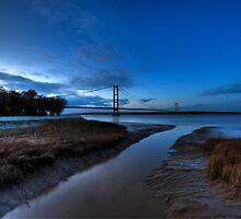 Humber Suspension Bridge by dephoto