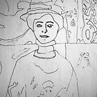 Matisse's Muse by Richard  Tuvey