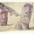 Easter Island Polaroid dye transfer by Syd Winer