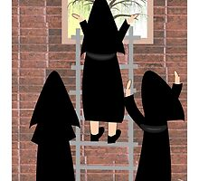 """The Outside World""-Cloistered Nuns by Gail Gabel, LLC"