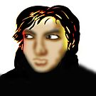 Syd Barrett Smirk by Grant Wilson