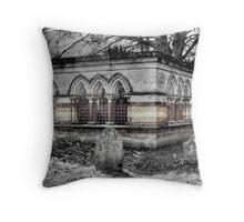 The Mausoleum Throw Pillow