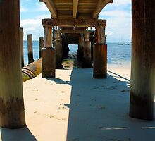 Shoal Bay Jetty by Tony Waite