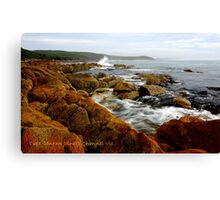 """ Cape Conran Joiners Channel Vic. Canvas Print"