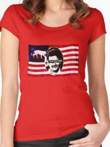 God Save The Sheen Women's Fitted Scoop T-Shirt