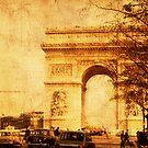Arc de Triomphe - Paris 1968 by pennyswork
