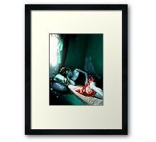 Think About This. Framed Print