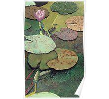 Emerald Pond Poster