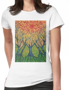 Drawing Joy Womens Fitted T-Shirt