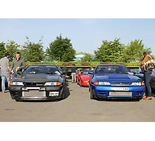 Nissan Skyline GTR R32 Photographic Print
