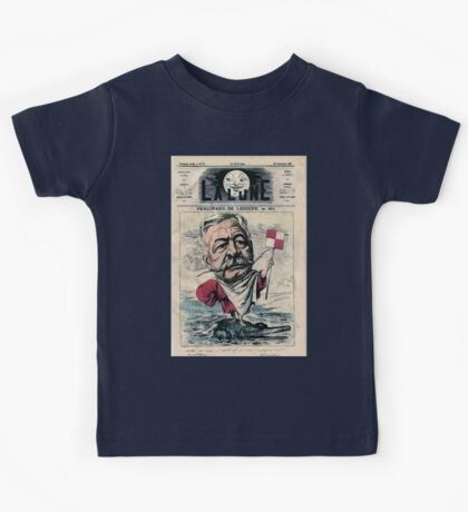 André Gill Lesseps Kids Tee