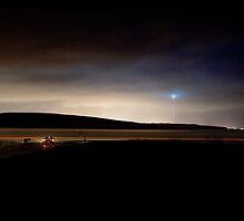 Darkness disappears over Reykjavík by Chloé Ophelia Gorbulew