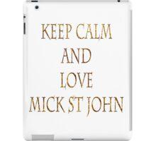 Mick St John iPad Case/Skin