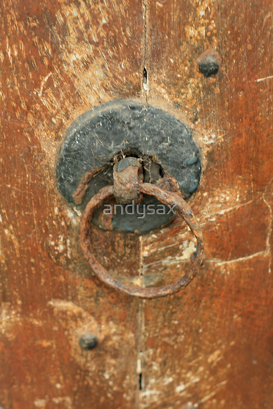 OLD CHURCH DOOR by andysax