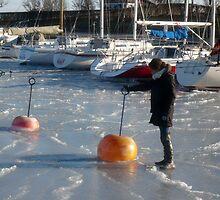 Walking on Ice by HeklaHekla