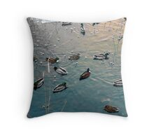Pearls on a String Throw Pillow