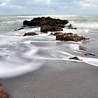 Rocks on the Beach by Kim McClain Gregal