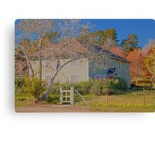 Halcyon House Canvas Print