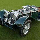 1938 Jaguar SS 100 by Timothy Meissen