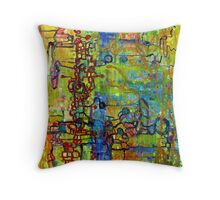 Urban Ecology Throw Pillow
