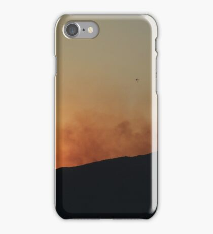 Fire on a Mountain iPhone Case/Skin