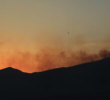 Fire on a Mountain by rhamm