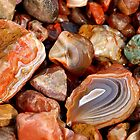 Lake Superior Agate Beach by Bill Morgenstern