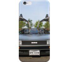 DeLorean DMC12 iPhone Case/Skin