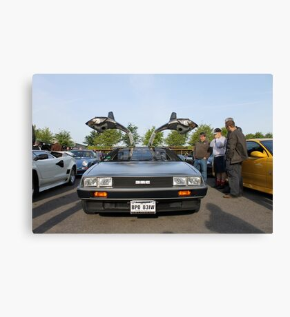 DeLorean DMC12 Canvas Print