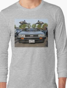 DeLorean DMC12 Long Sleeve T-Shirt