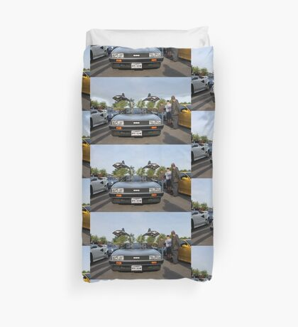 DeLorean DMC12 Duvet Cover