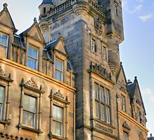 Edinburgh Architecture, Scotland, UK by David A. L. Davies