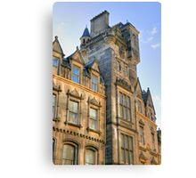Edinburgh Architecture, Scotland, UK Canvas Print