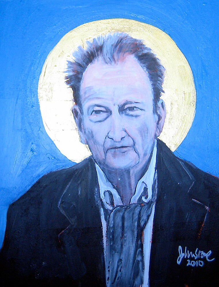 LUCIEN FREUD AS ICON by Ray  Johnstone