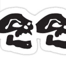 JEEP SKULLS Sticker