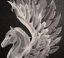 Pegasus by Sarah McFloof