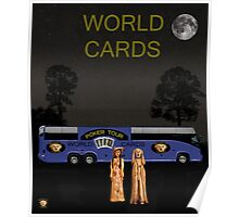 Poker World Cards Tour Poster