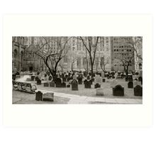Cathedral Cemetery  Art Print