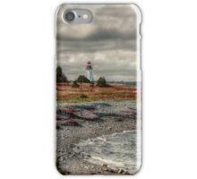 Gabarus Lighthouse Cape Breton Island iPhone Case/Skin