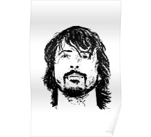 Dave Grohl Portrait - Hand Drawn - Foo Fighters Poster