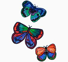 3 Bold Butterflies Womens Fitted T-Shirt