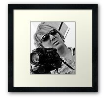 Director Reflecting Framed Print
