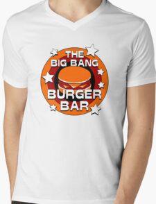 The Big Bang Burger Bar Mens V-Neck T-Shirt
