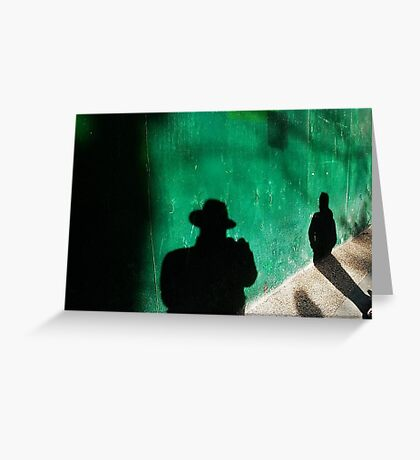 Shadows world Greeting Card