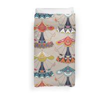 carousel damask Duvet Cover
