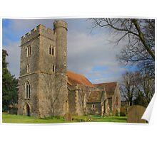 St Mary Magdalene, Stockbury. Poster