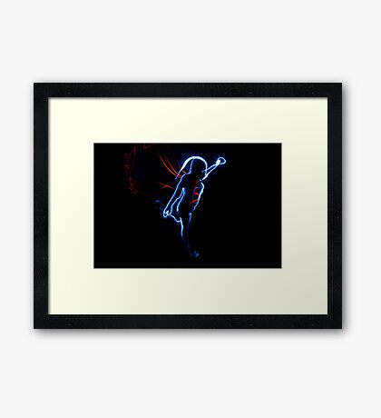 Light Hero Framed Print
